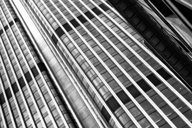 Lines of the building